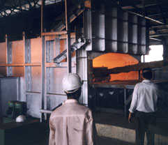 J B Furnaces in use